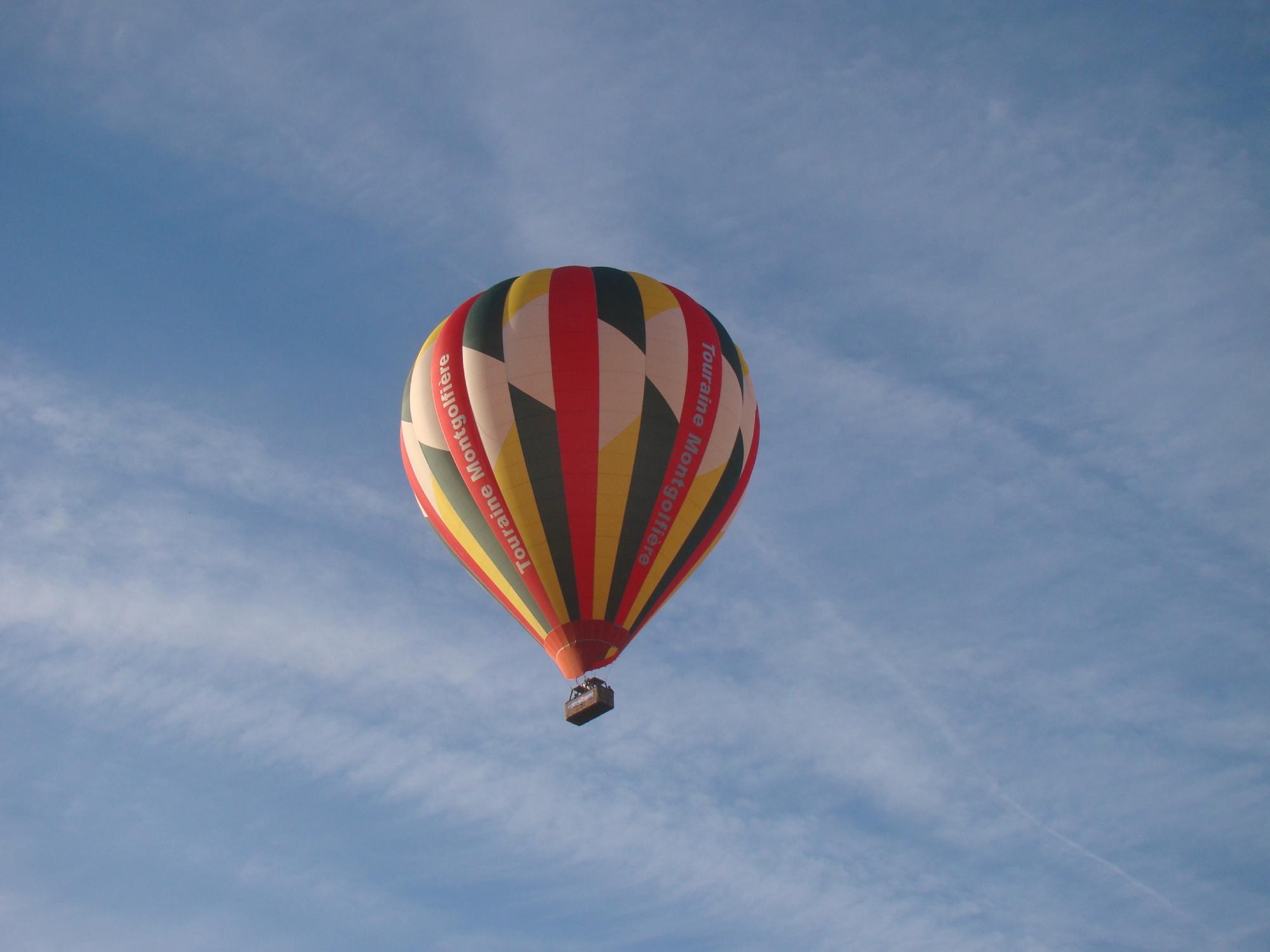 Un p'tit  voyage en montgolfière